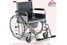 Xe lăn cơ MKC- Medical có bô vệ sinh