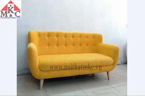 Ghế sofa dài 1,5m màu vàng