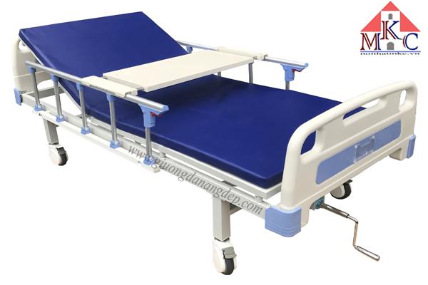 Giường bệnh 1 tay quay di động mã MKC-GB13
