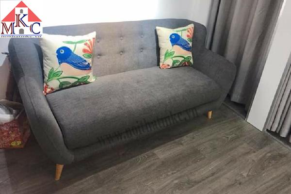 Ghế sofa dài 1,8m màu ghi
