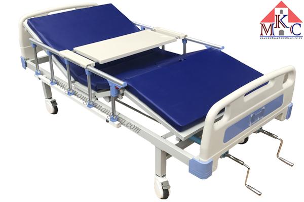 Giường bệnh 2 tay quay di động mã MKC-GB14( hàng dự án)