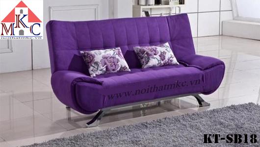 Mẫu giường gấp sofa 2in1 trơn