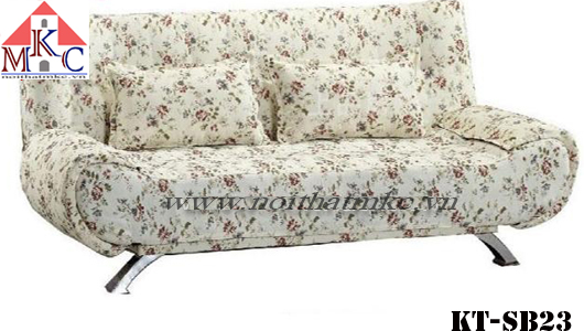 Mẫu giường gấp sofa 2in1 hoa văn